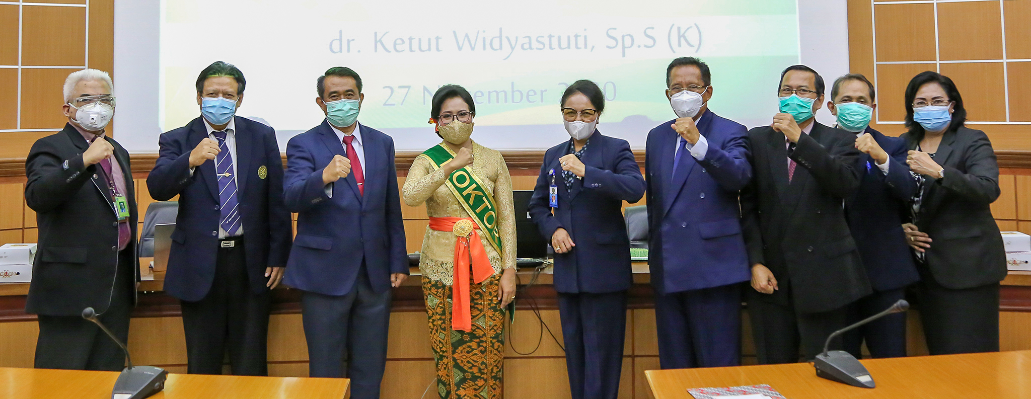 Ujian Daring Promosi Doktor dr. Ketut Widyastuti, Sp.S(K)